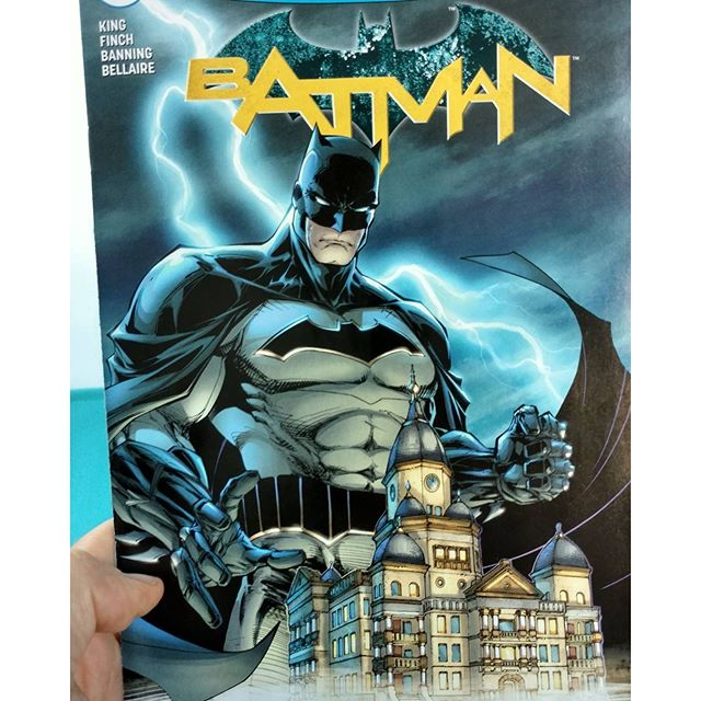 @leithbm grabbed a copy of the Batman/Denton Courthouse comic cover exclusive to More Fun Comics and Games last week.