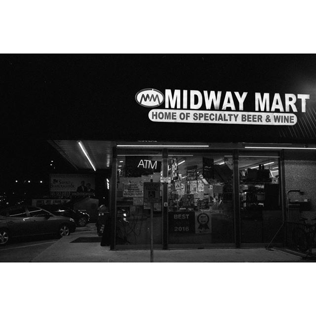 Midway Mart on film from @aaronlancelopez.
