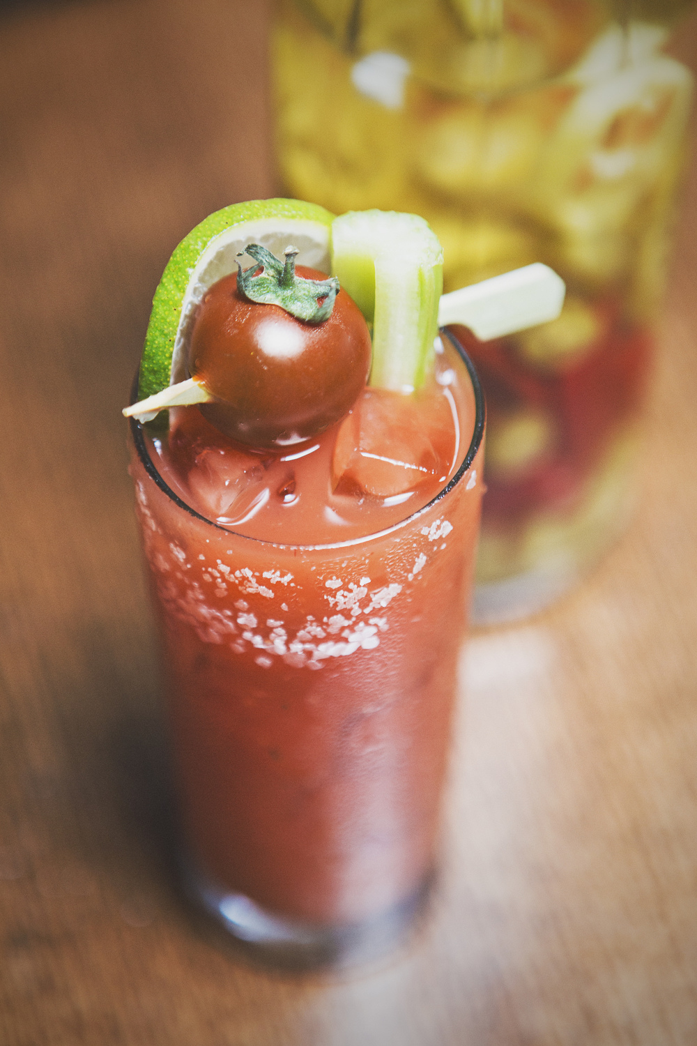 The (spicy) Bloody Mary.