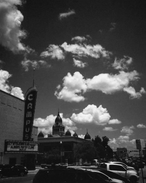 @aaronlancelopez captured downtown Denton on film.