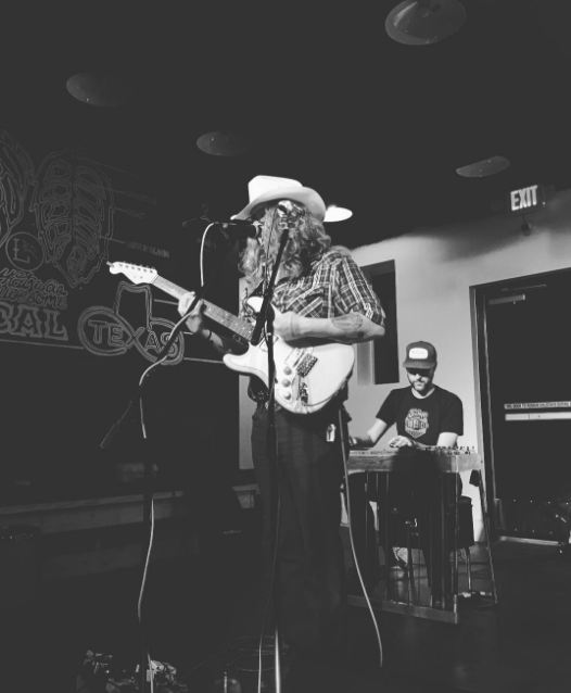 @fussbudgets with a shot of @corypcoleman playing at @tapsandcaps this weekend.
