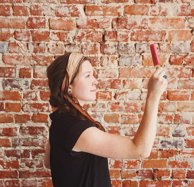 West Oak Coffee Bar had cherry basil and mango orange popsicles last week. Photo by @ajleaps.