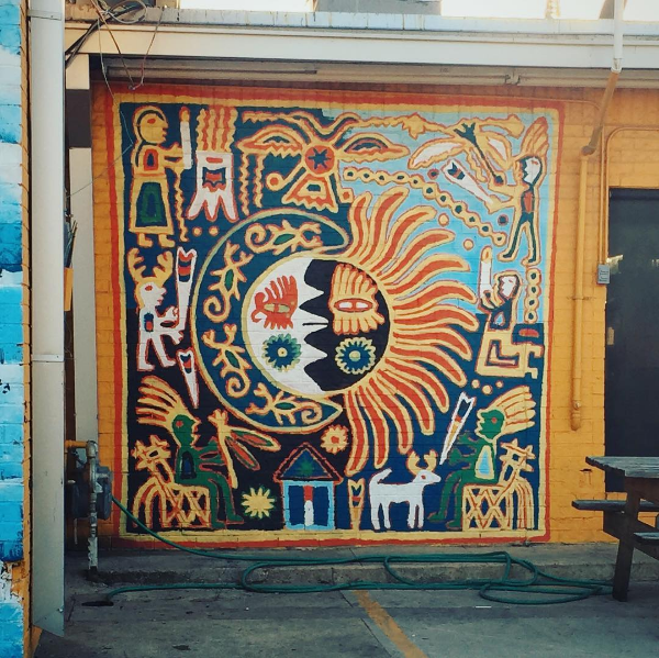 La Estrella is more than just delicious breakfast tacos. For instance, this mural. Photo by @hollyintexas.