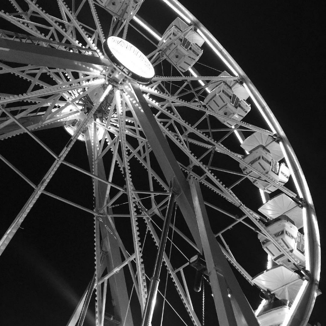 @swil spending some quality evening time at the North Texas State Fair.