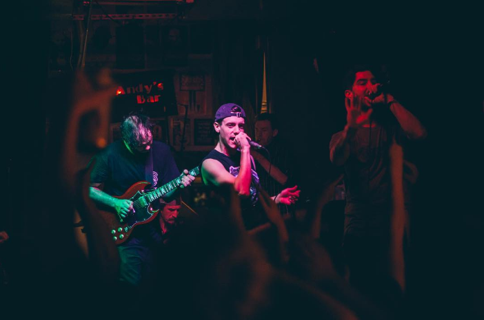 The Basement's final show at Andy's on Friday. Photo by @adrianxsamano.