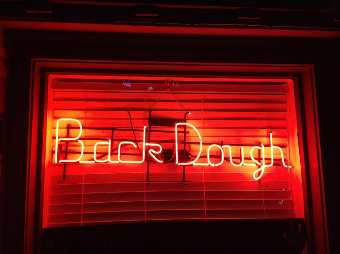 When the neon is on the donuts will flow outside of Queenie's. Photo from @bigdock.