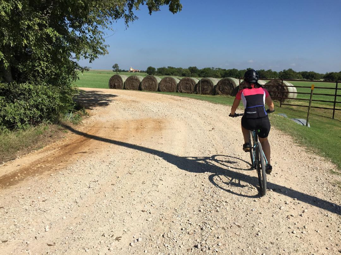 Round bales and bike rides from @sretsok.