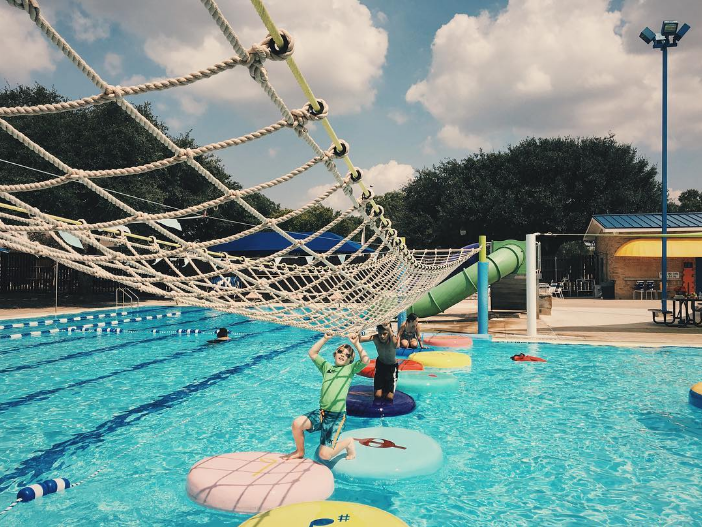 This weekend was the last of the season for the Denton Civic Center Pool. Photo by @wedentondoit.