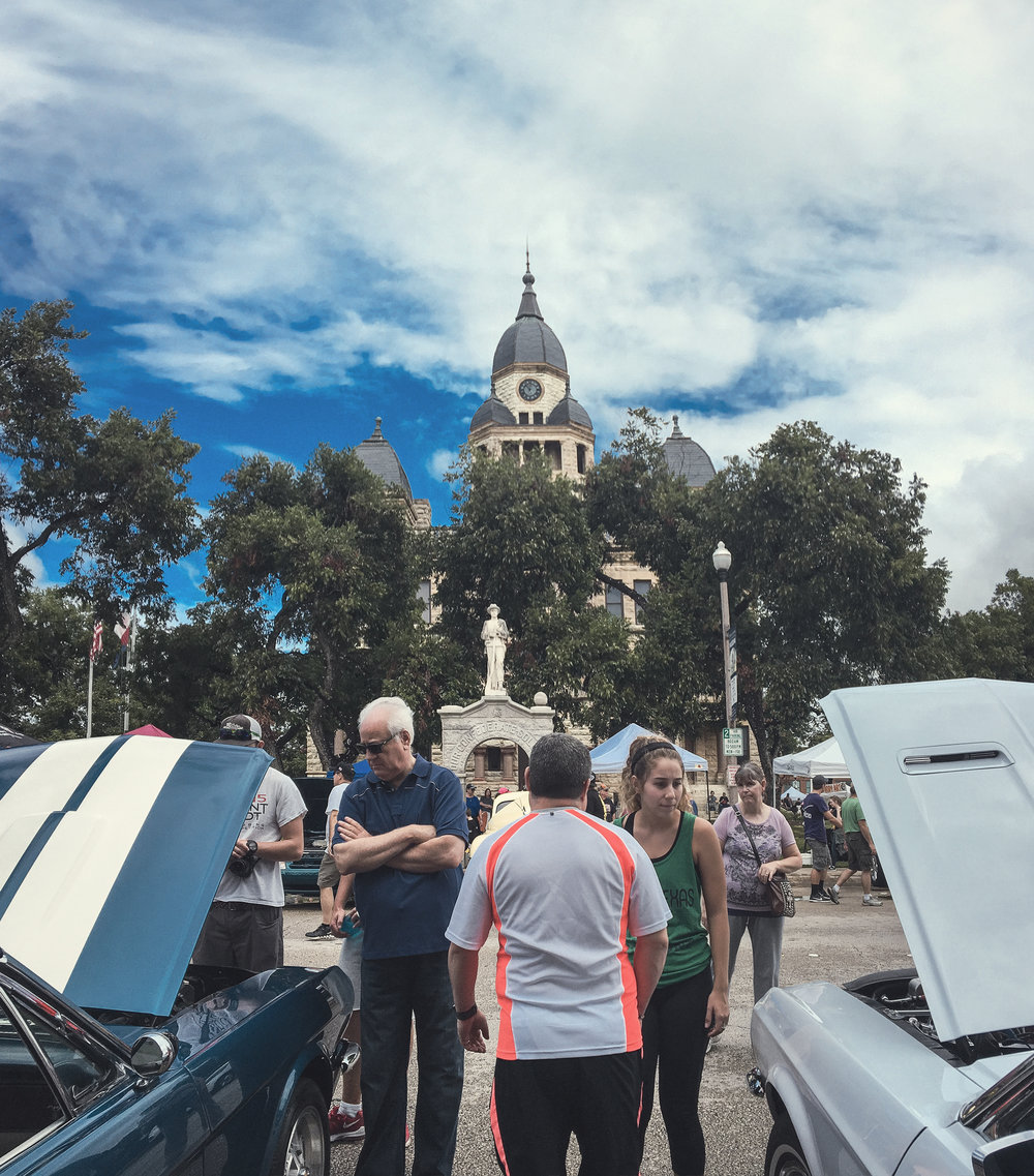 Arts & Autos was this past Saturday. It had a rainy start, but was still a great event. We'll have a separate post later today with photos from the day. Photo by @wedentondoit.