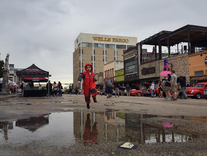 The rainy morning made for nice weather for the rest of the festival. Photo by @aaronlancelopez.