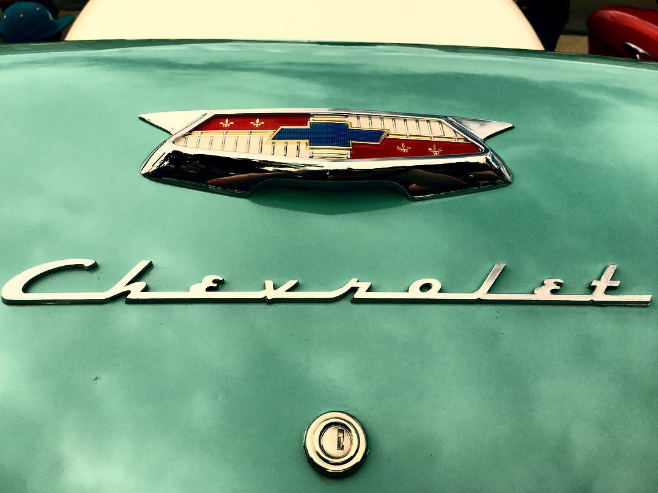 @texas_red57 and a close up of a Chevrolet.