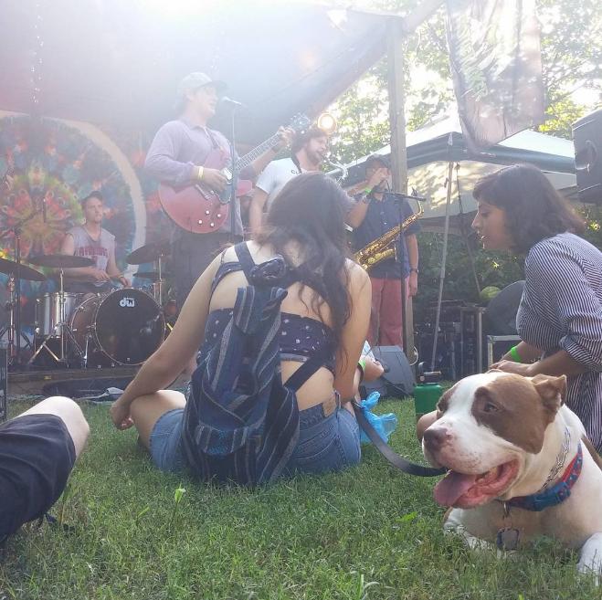 @sarancrap with a shot at Hot Damn Jam Fest.