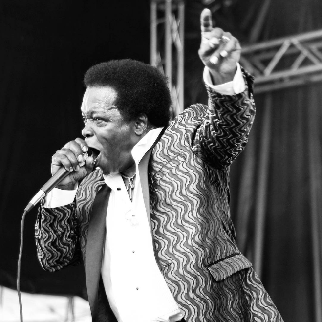 Lee Fields and the Expressions on the UNT stage. Photo by @alexandergirl_linda.