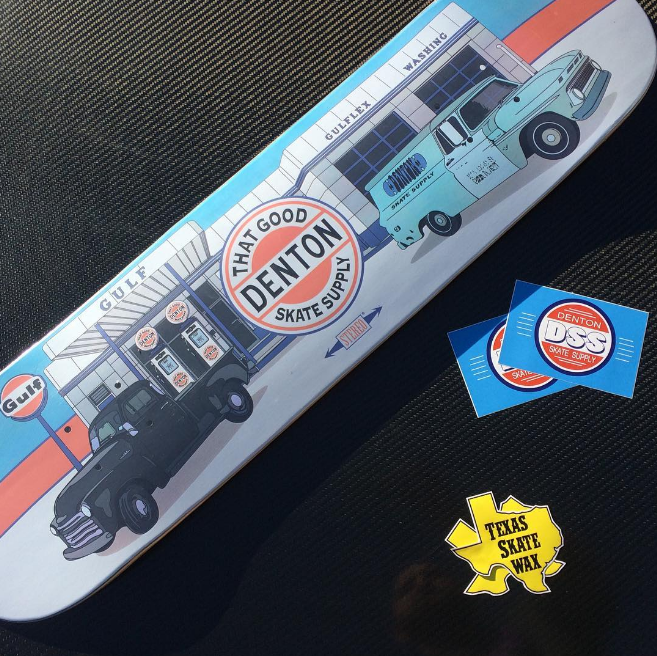 Check out these great new boards from Denton Skate Supply. Photo by @misterbosch.