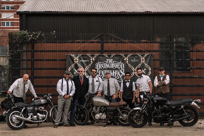 @kclose3 shared this image of the Denton team of this year's 2016 Distinguished Gentleman's Ride in Dallas. Photo by @brandon_lajoie.