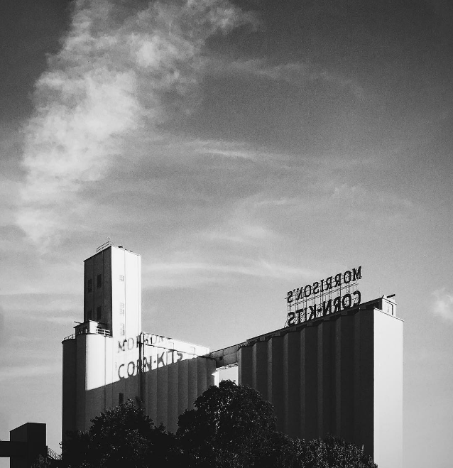 And we'll end this week with a shadow shot of Morrison Milling Co. from @__will.