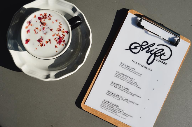 @shiftcoffee released their new fall menu with delicious-looking speciality drinks that we can't wait to try.