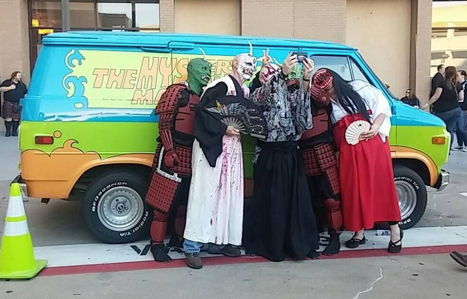 Zoinks!! Trust us, these ghouls from Dan's Haunted House are a lot scarier in the dark. Photo from  Dan's Haunted House .