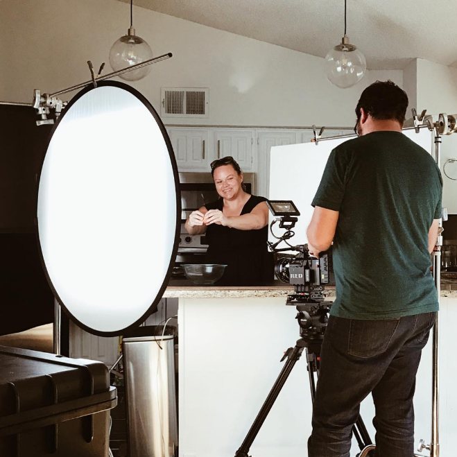 @ajleaps did a food photo shoot with @bradholt. Photo by @emilyfightscrime.