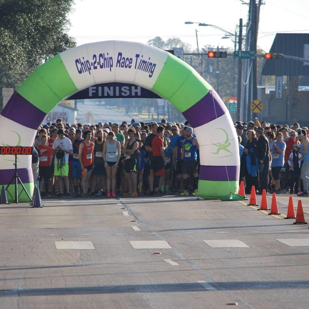Scenes from the 2nd annual Turkey Trot. Photo by @dentonarearc.