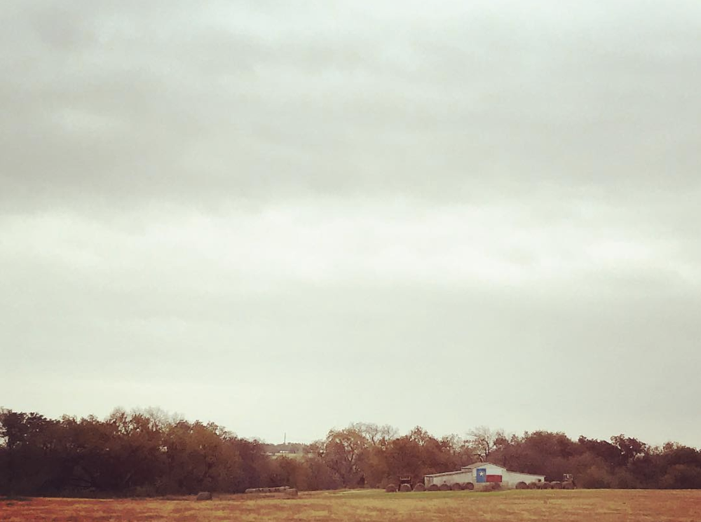 @ahasserd626 is enjoying the Texas fall colors and landscapes and we are, too.