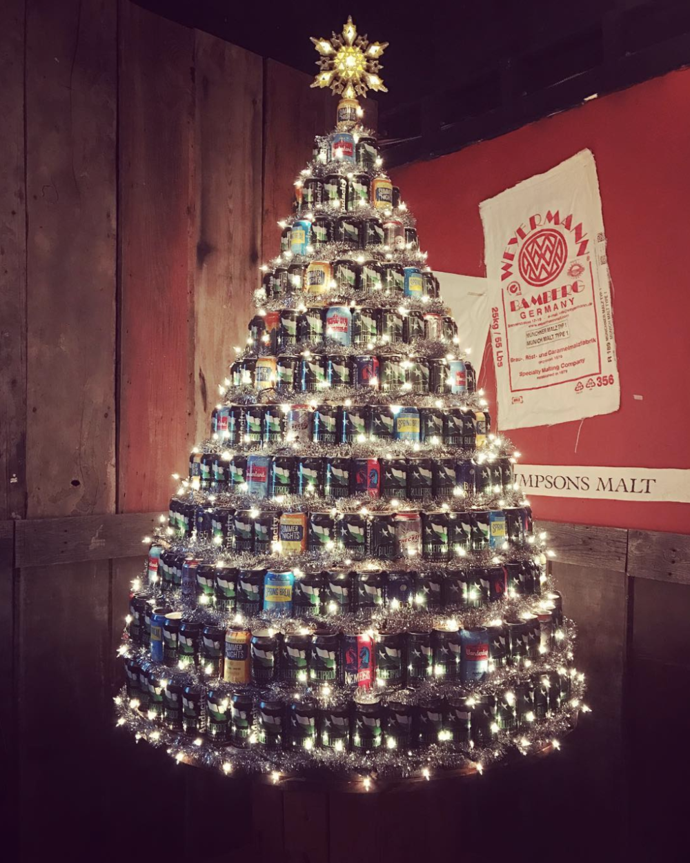 How Audacity does Christmas. Photo by @seabrookes.