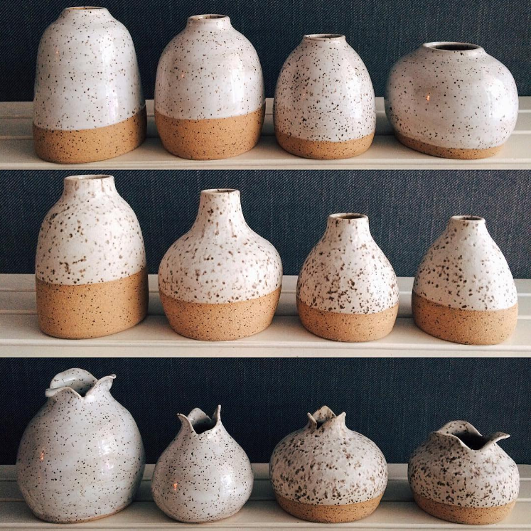 Freckled Pottery is one of many great items you can get at The DIME Store.
