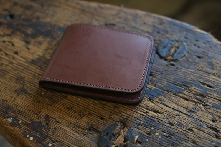 A handmade leather wallet from Clint Wilkinson's Bell and Oak collection makes a great gift!