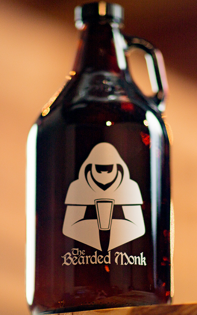 Get your loved one a growler from The Bearded Monk and fill it with something delicious.