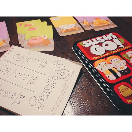 Sushi Go! is one of the great card games you can get at More Fun Comics and Games.