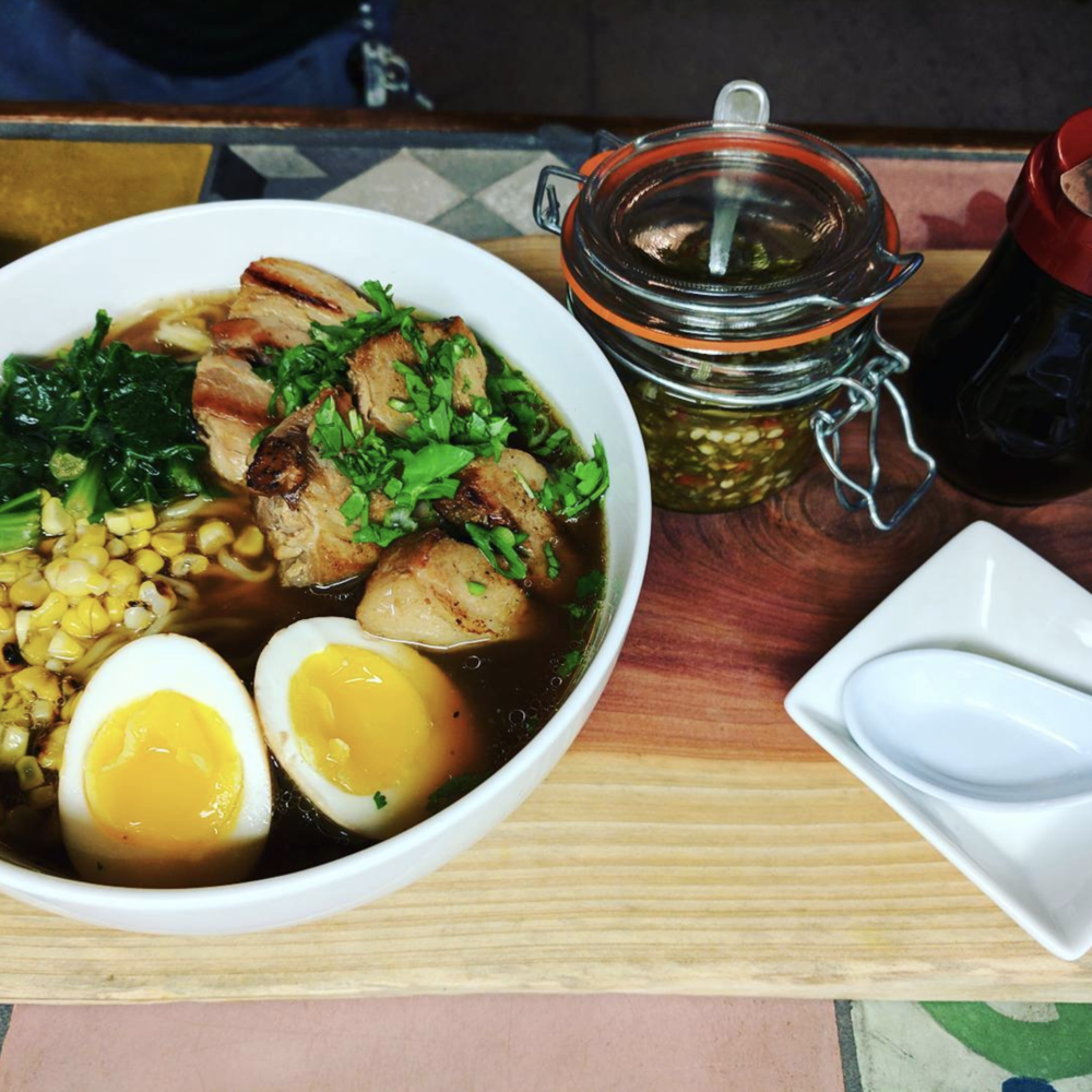 Have you tried @komodolocodenton's ramen yet? It will warm you up on a cold day in the perfect way.