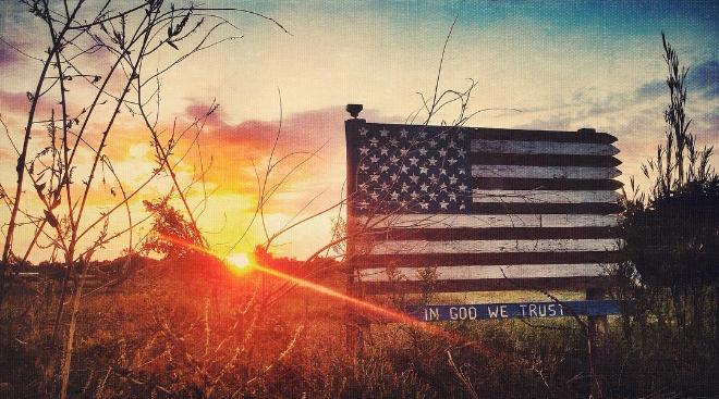@bobhedlund, a sign, and a sunset.