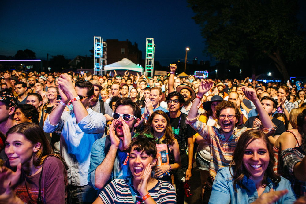 @peopleofdenton with a crowd shot at this year's Oaktopia music festival.