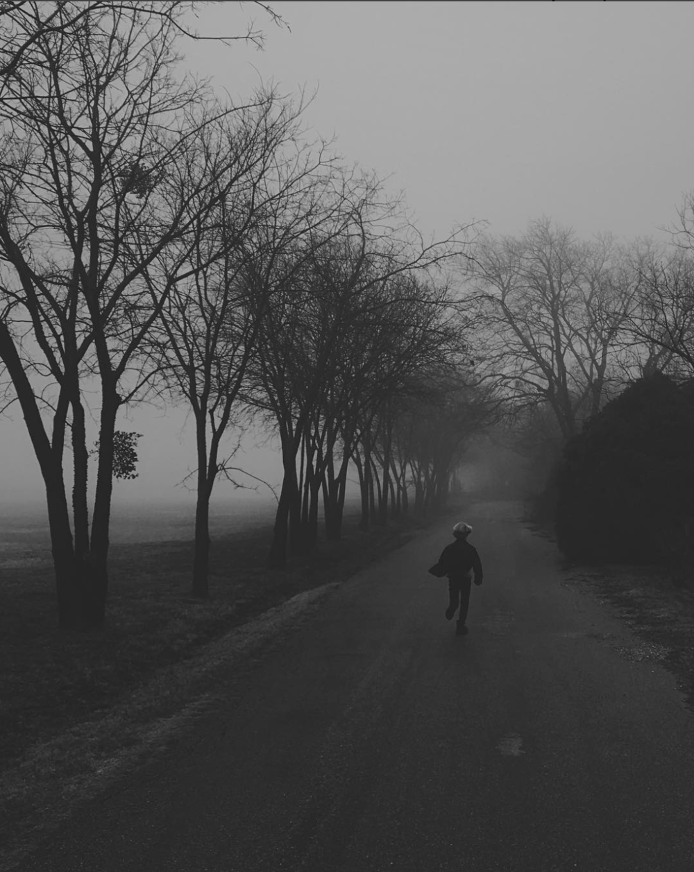 Running through fog from @will_milne.