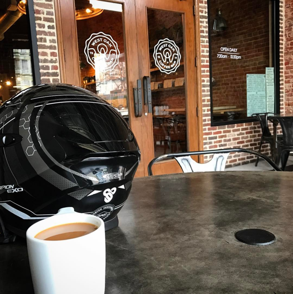 Coffee and bikes with @kclose3.