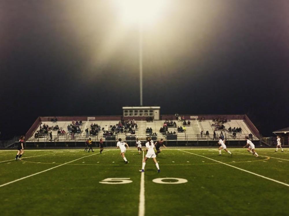 Great shot of the Ryan High vs Braswell High ladies soccer game last week from @ryanraidernation.