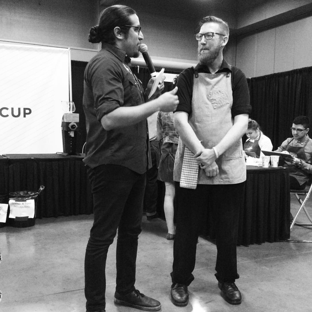 @personalgrind of @westoakcoffee competed over the weekend at the Austin Coffee Champs barista competition.