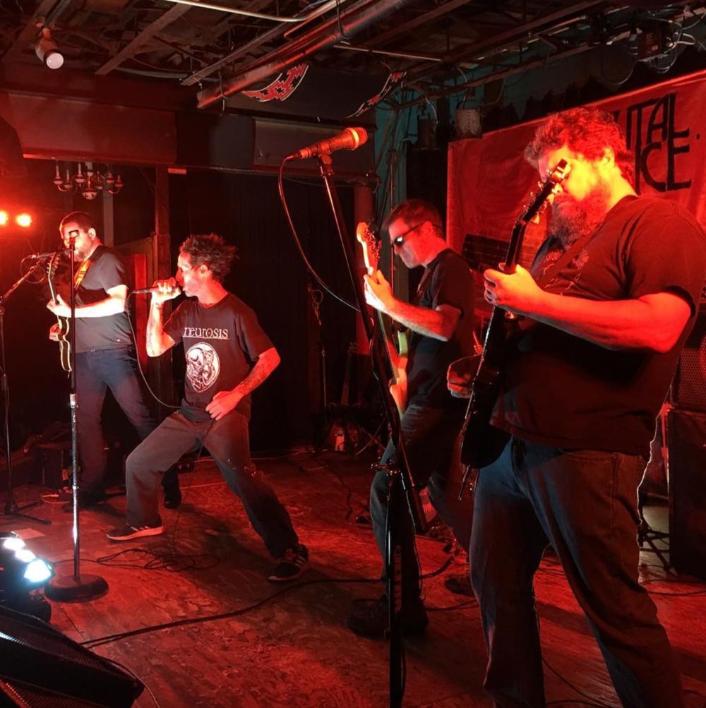 A scene from Brutal Juice's album release last week from @wamperstamp.