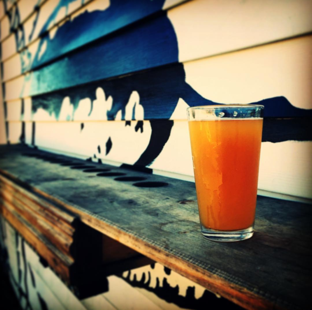 When it is 85 degrees in February you drink outside at @beardedmonk.