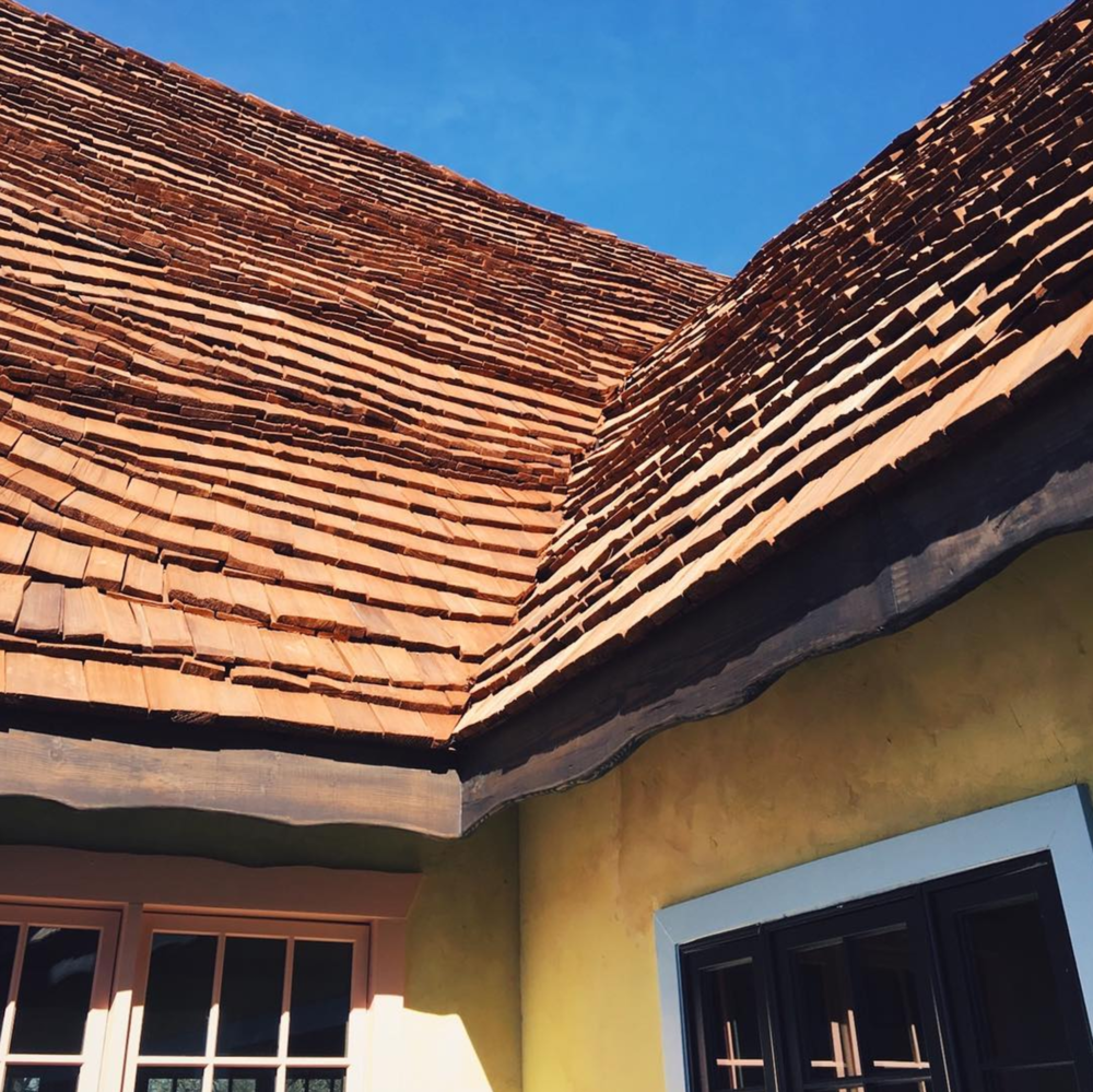 @ajleaps is excited about the impending opening of Kimzey's Coffee down the road in Argyle and we are, too. I mean just look at that whimsical roof! How could we not be excited?