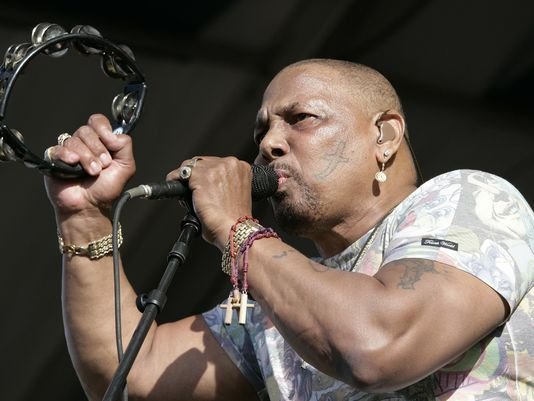 Saturday headliner - Aaron Neville