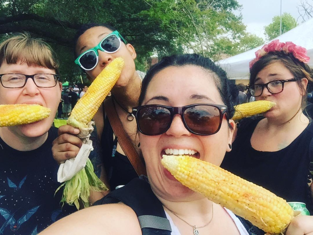 @daderain and some corn on the cob.