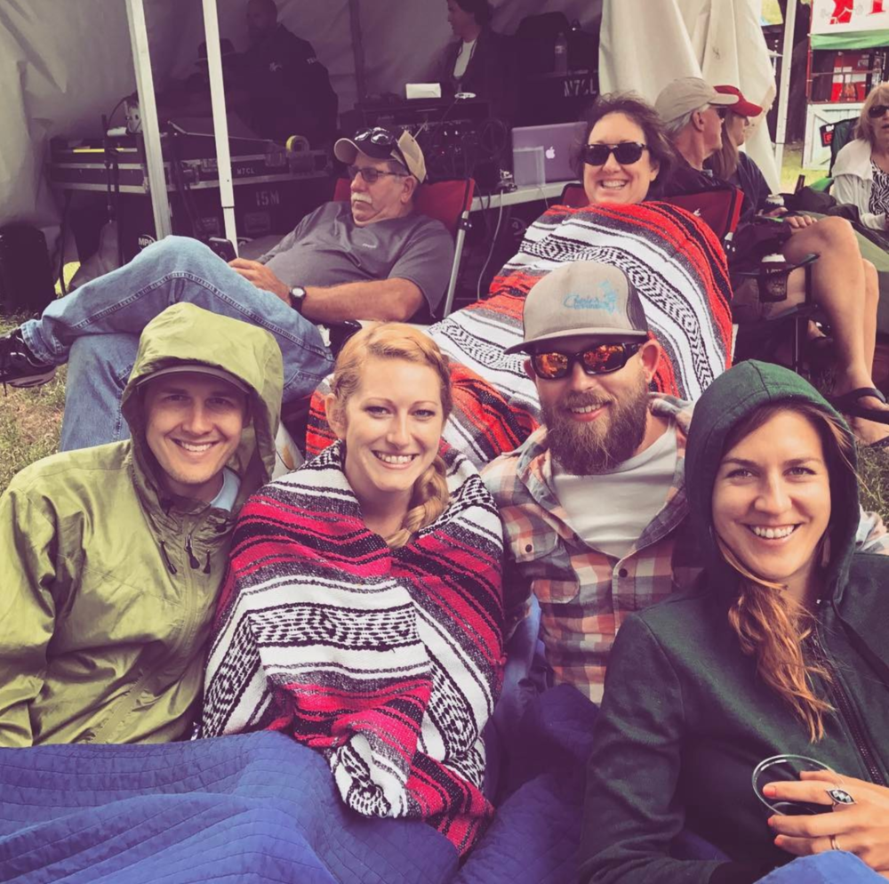 This was the coldest Arts and Jazz festival in recent memory and here's a photo from @lifeofahasserd to prove it.