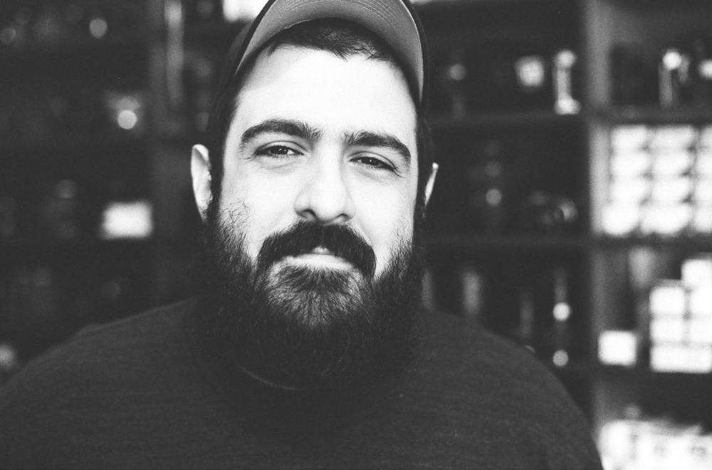 @aaronlancelopez with a great portrait of Denton Camera Exchange's Armand Kohandani.