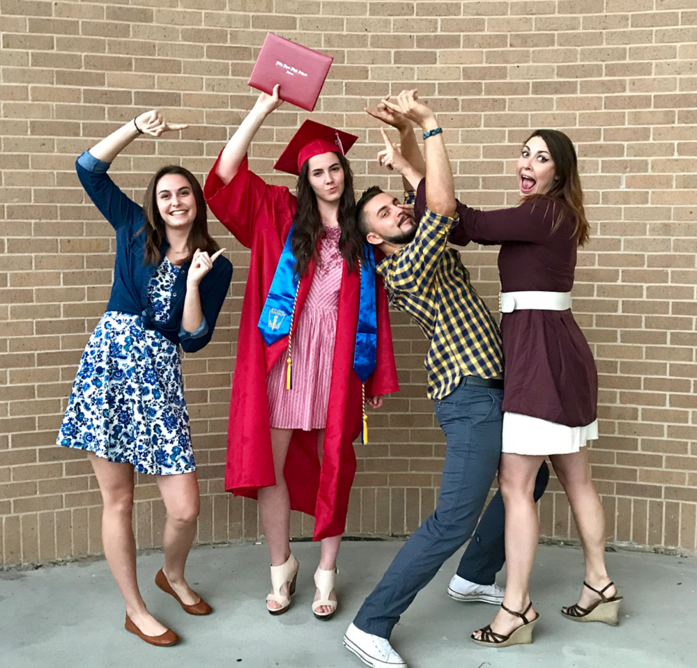 Denton ISD graduates from Guyer, Billy Ryan, and Denton High School walked across the stage at UNT last week and received their diplomas. Congrats everyone! And here's a great photo from @sforest1 to boot!