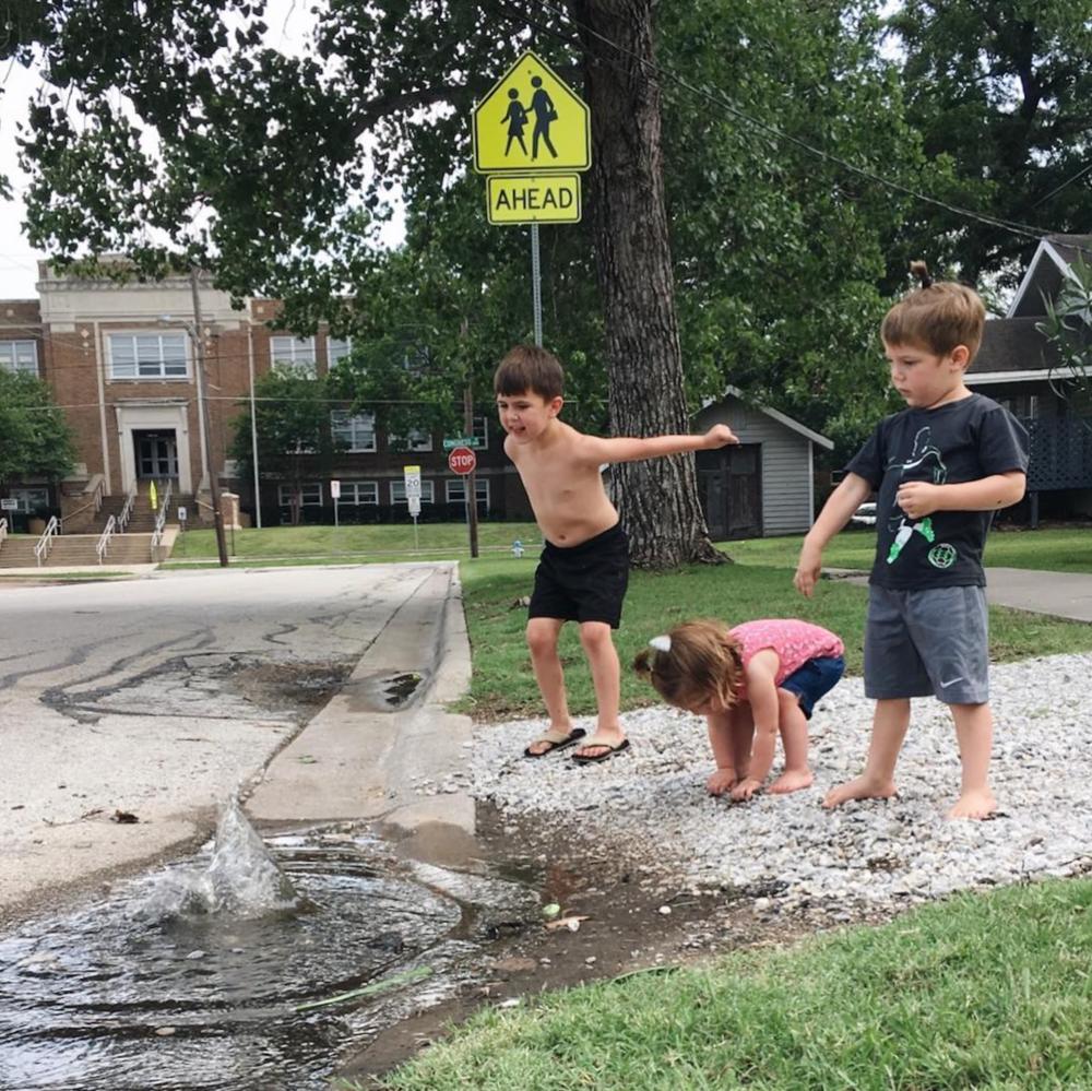 Summer fun in Denton, TX from @em_mooney.