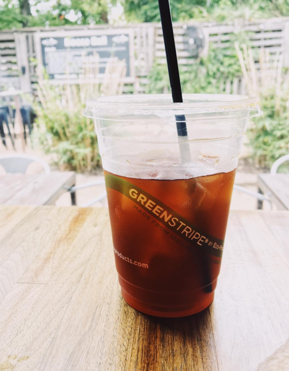 Harvest House has some of our favorite house-made cold brew in town. Photo by @wedentondoit.