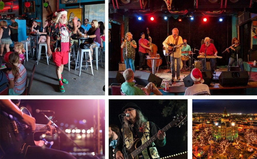 Check out DHLF Christmas in July this Sunday at Dan's Silverleaf.