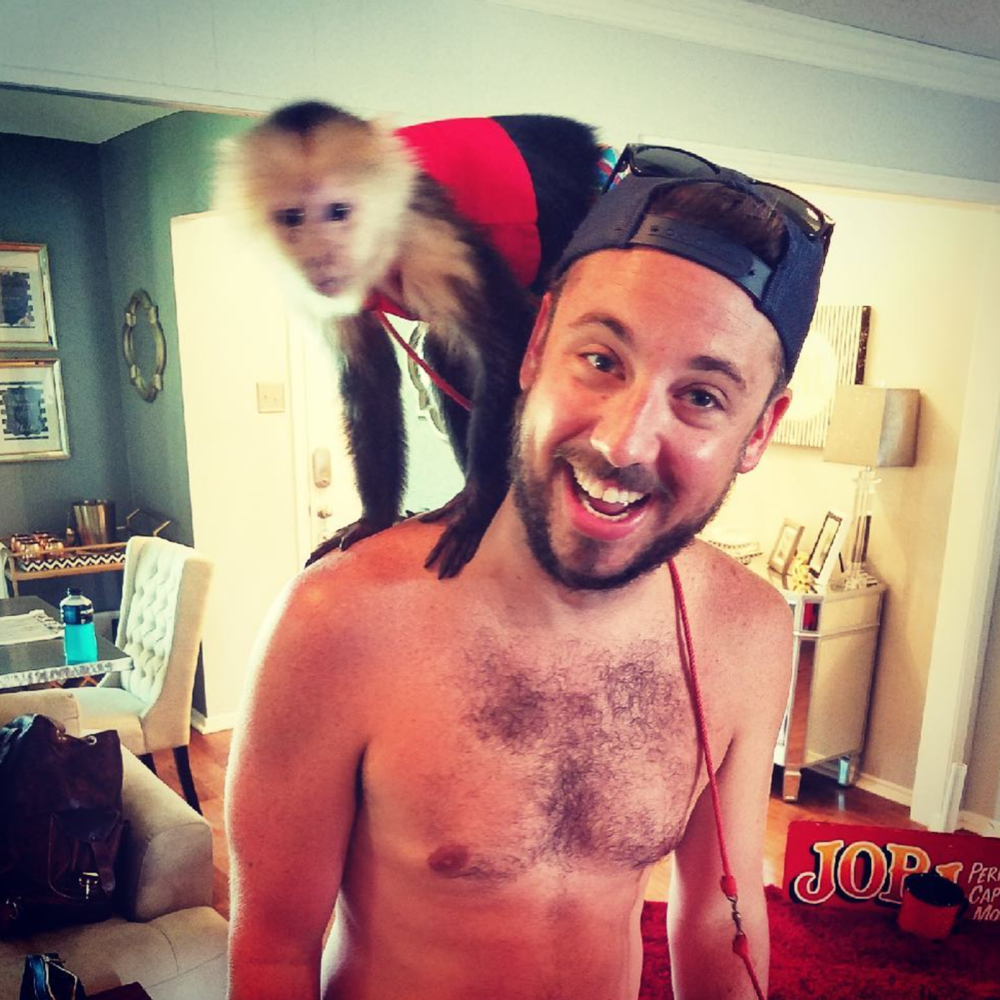 Monkeys always make pool parties better. Maybe not safer, but definitely better. Photo by @theryancole87.
