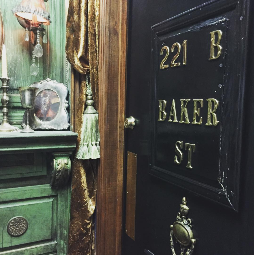 @amyranth13 at 221 B. Baker St. which just so happens to be in the back of Rose Costumes.
